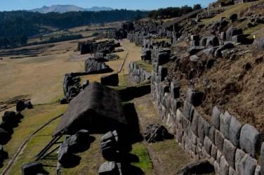 Los restos de Sacsayhuamán dan idea de lo grandioso que fue este recinto de Cuzco durante el Imperio Inca