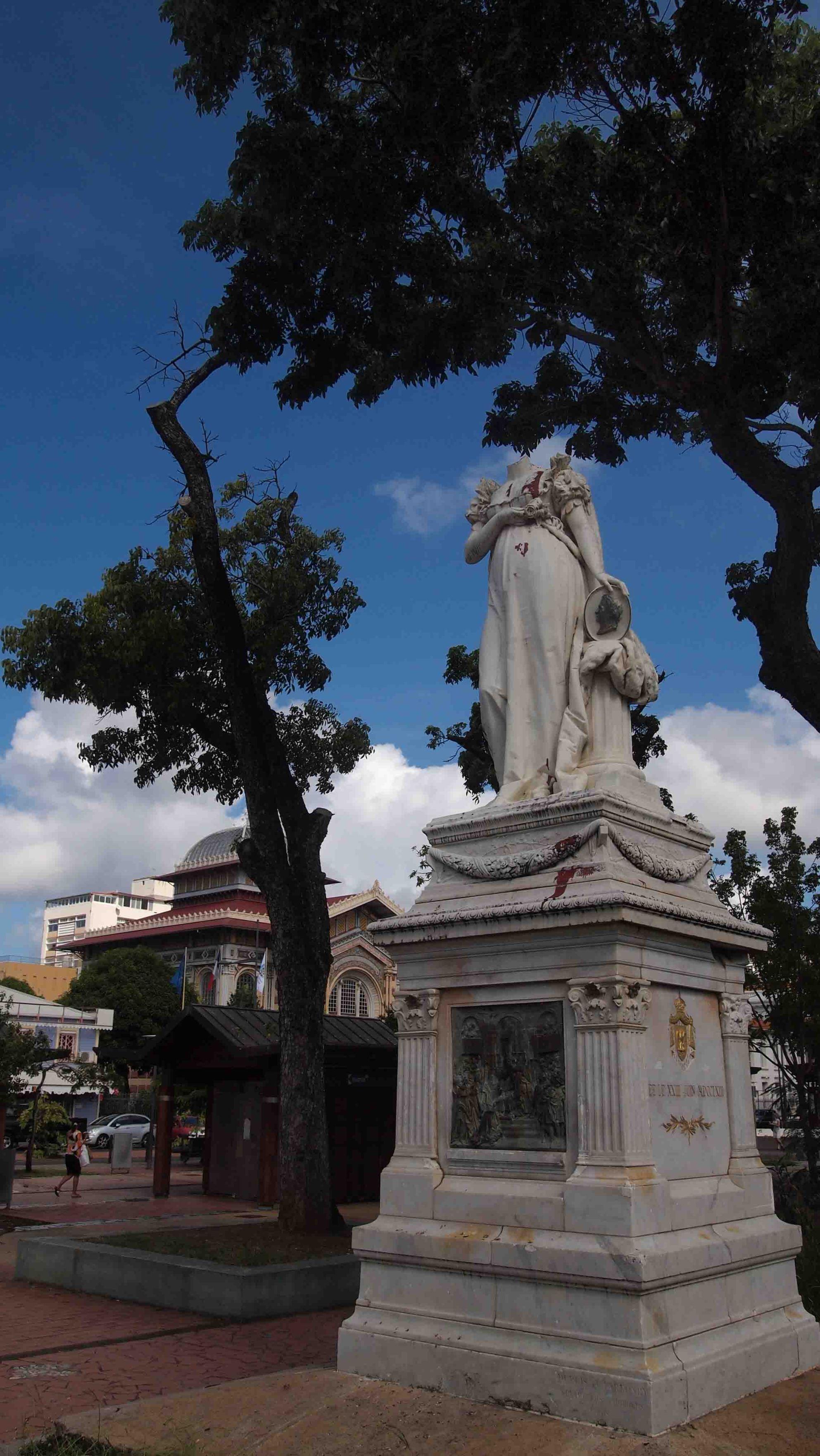 estatua-josefina-fort-de-france