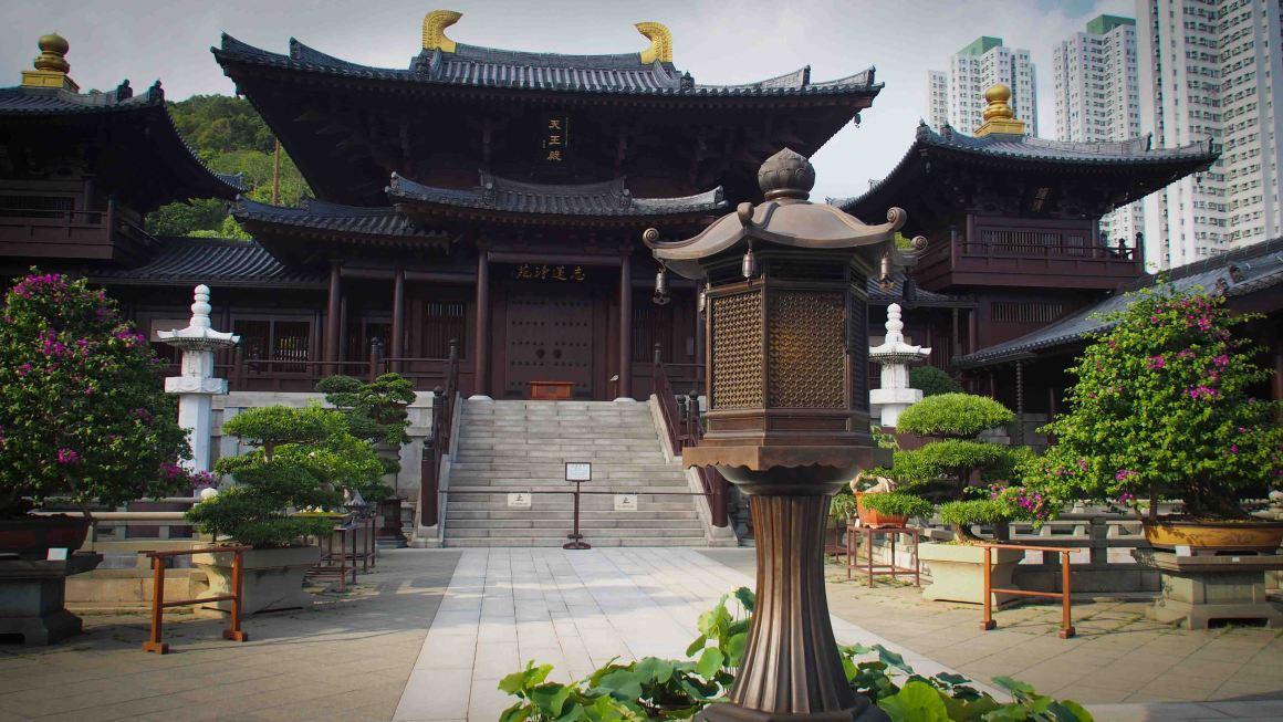 Monasterio-Chi-Lin-templos-en-hong-kong