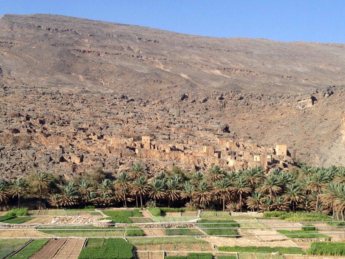 Viajes por Oman: Al Hamra | Misfat | El sistema de regadío Falaj