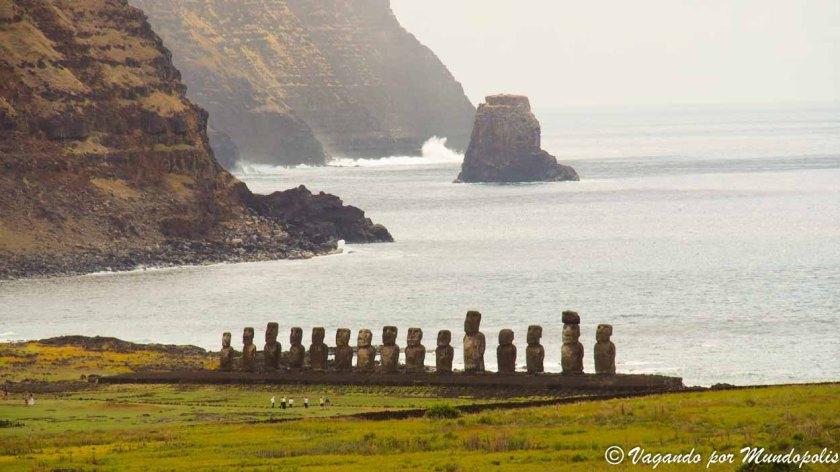 Ahu Tongariki-Isla de Pascua