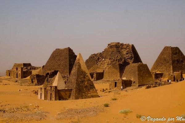 Viaje por Sudán: Las pirámides de Meroe
