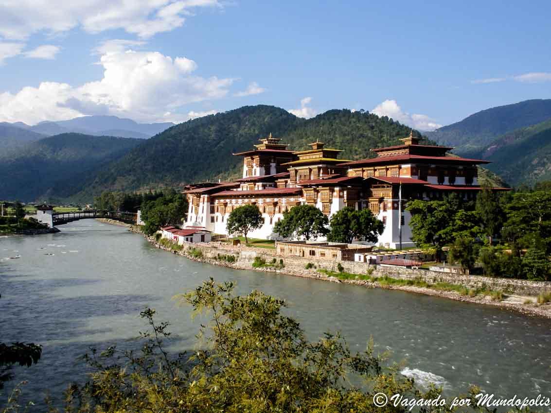 Punakha: Visita al Dzong más impresionante de Bhutan