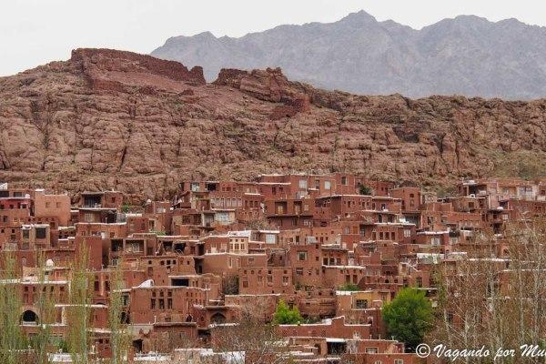 Natanz y Abyaneh el pueblo rojo de Irán