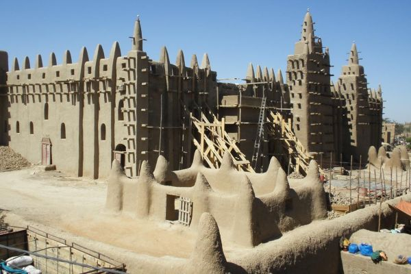 La Gran Mezquita de Djenné, Mali