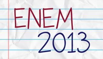 Inscriçao Enem 2013