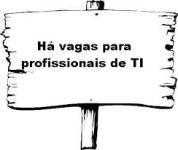 Vagas de emprego na Área de TI 2013