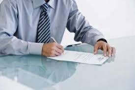 Carta de Indicação para garantir emprego no SENAI