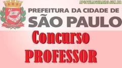 Concurso Professor São Paulo - SP 2014 01