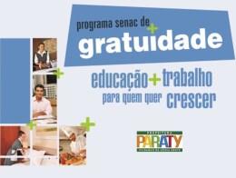 Cursos gratuitos Senac 2015 em Paraty RJ 01