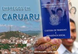 Empregos em Caruaru PE - Sine hoje 01