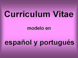 Modelos de Currículo em Espanhol - Prontos