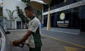 Curso gratuito de Frentista no Rio SENAC PSG