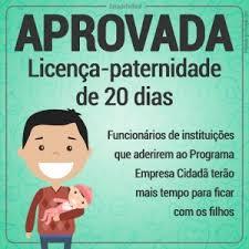 Nova Licença Paternidade é Aprovada