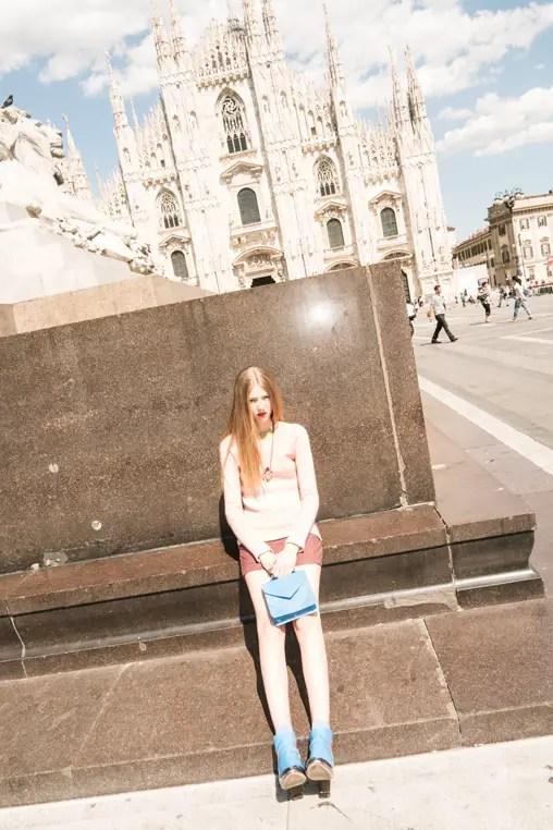 Milan fashion editorial Davide Lantermoz look 5