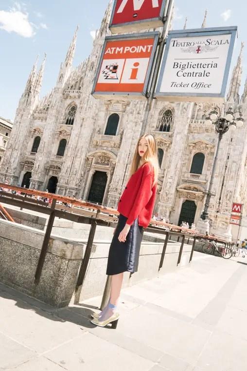 Milan fashion editorial Davide Lantermoz look 6