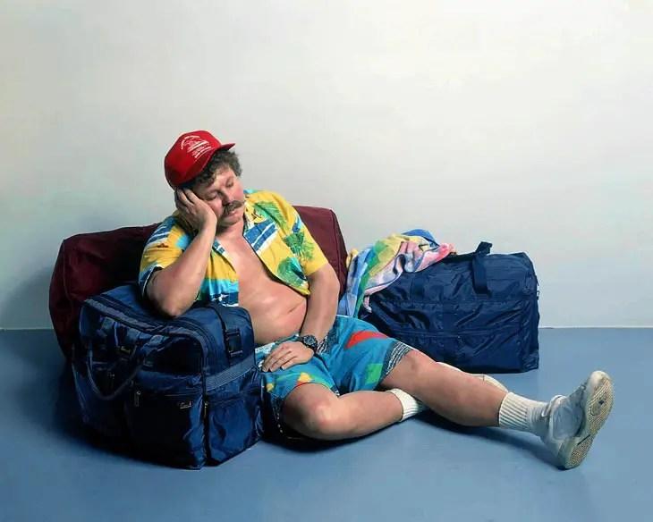Traveller, 1988, Duane Hanson.