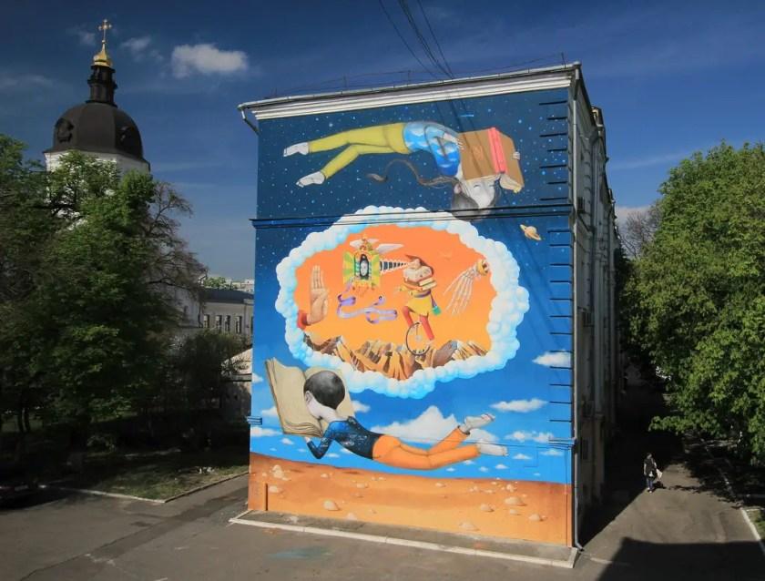 Ukraine Street Art Kiev