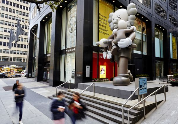 KAWS auction house art for sale