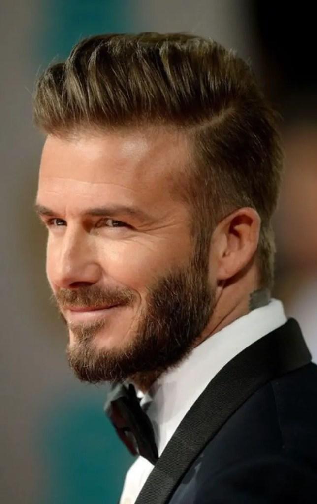 Pompadour David Beckham hairstyles