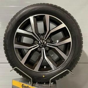 VW Passat 3G NIVELLES 17 Zoll Winterräder 3G0601025F 7J x 17 H2 ET40 Alufelgen Winterreifen