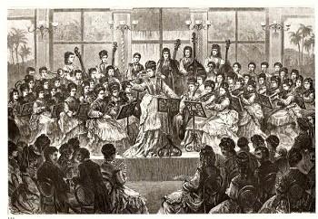 Josephine Weinlich & Europäischen Damenorchestra - 1873