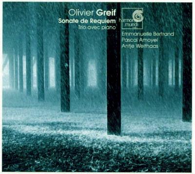 Olivier Greif - Sonate de Requiem - Trio avec Piano - Pascal Amoyel - Emmanuelle Bertrand