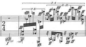 Klavierstück 1 - Groupe 5