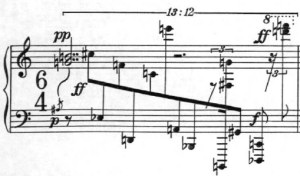 Klavierstück 1 - Groupe 6 - Mesure 7