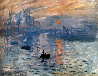 Monet - Impression: soleil levant