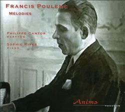 Françis PouLEnc - Philippe Cantor, Sophie Rives