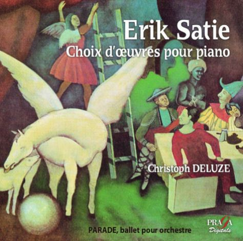 Erik Satie - Piano works - Christoph Deluze - Praga Digitals