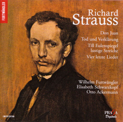 Richard Strauss - Furtwangler - Praga Digitals