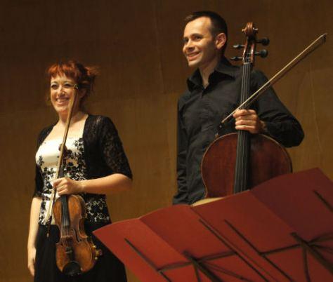 Alexandra Greffin-Klein et Alexis Descharmes