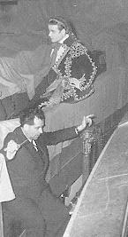 Jean Piat et André Jolivet à la Comédie-Française