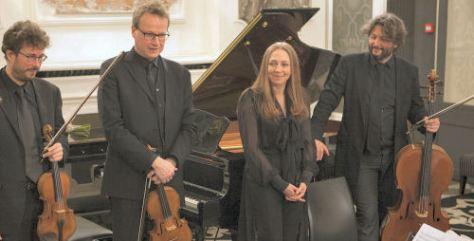 Eric Lacrouts, Pierre Lenert, Véronique Bonnecaze et Cyrille Lacrouts