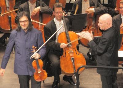 Leonidas Kavakos & Christoph Eschenbach