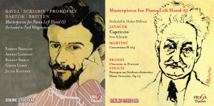 Masterpieces for left hand - Paull Wittgenstein - Victor Holmann