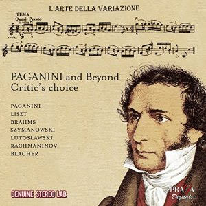 Paganini - Liszt - Brahms - Szymanovski - Lustoslawski - Rachmaninov - Blacher