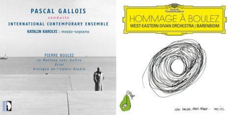 Pierre Boulez - Daniel Barenboïm - Pascal Gallois