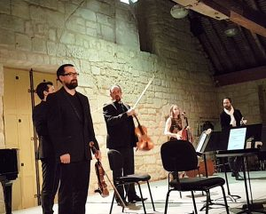 Le quatuor Tana et Yann Robin