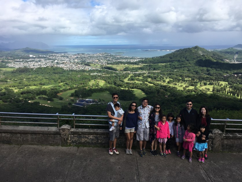 Pali Lookout Hawaii