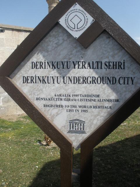 Derikuyu City Underground Cappadoccia