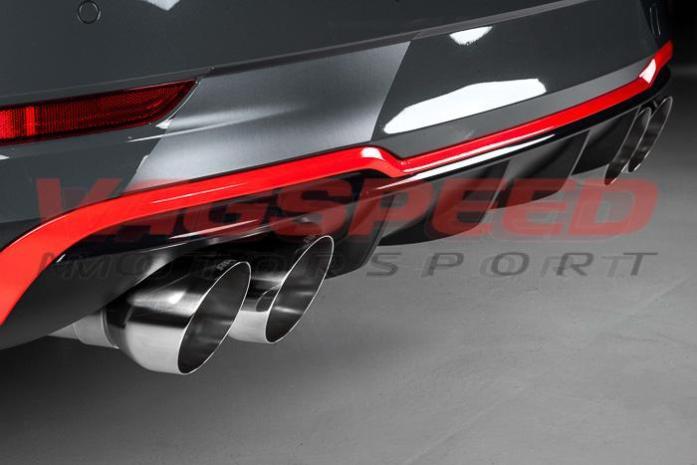 Cat-back APR Audi S3 8V Sedán – Con válvulas