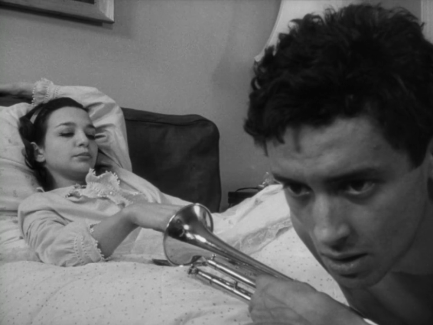 Lelia Goldoni and Ben Carruthers in John Cassavetes' 'Shadows' (1959)