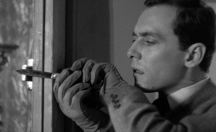 """Maurice Ronet in Louis Malle's """"Ascenseur pour l'échafaud"""" (1958)"""