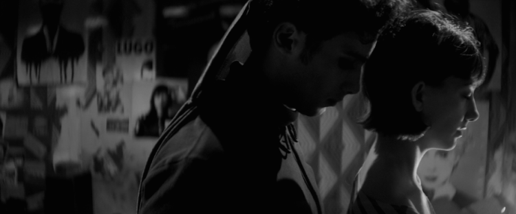 Arash Marandi and Sheila Vand in Ana Lily Amirpour's 'A Girl Walks Home Alone at Night' (2014)