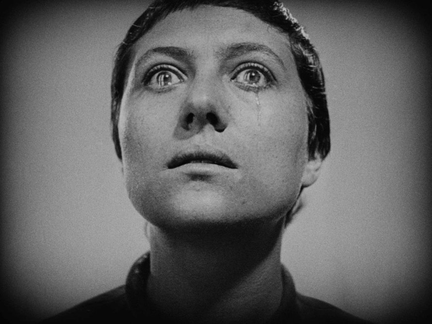 Maria Falconetti in The Passion of Joan of Arc