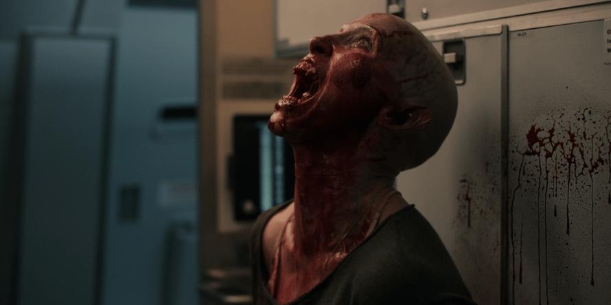 Peri Baumeister as Nadja in Blood Red Sky on Netflix