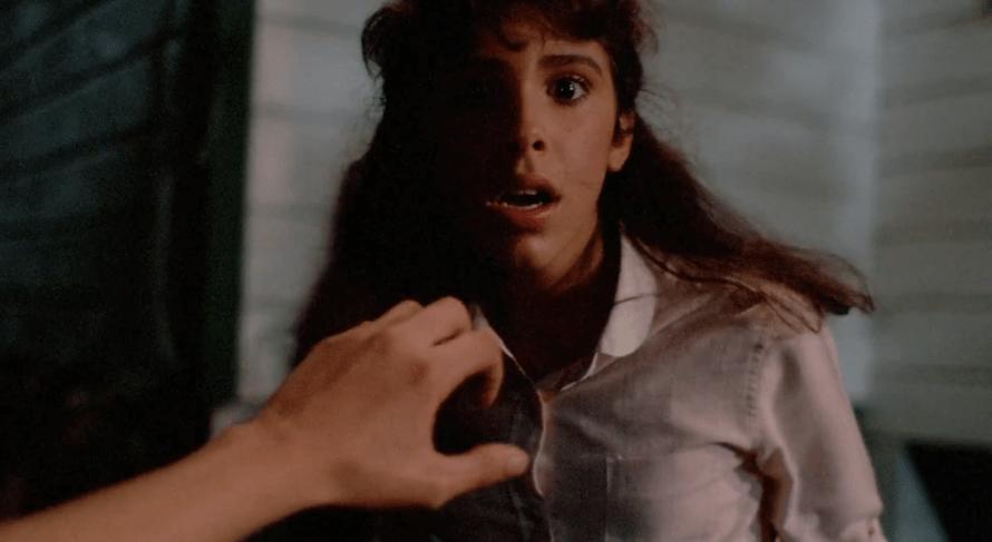 Felissa Rose as Angela in Sleepaway Camp